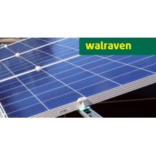 Комплект креплений Walraven на 10 фотомодулей на наклонную крышу