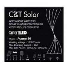 Контроллер заряда C&T Solar Acamar 50 для освещения (встроенный драйвер светодиодов)